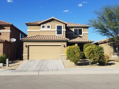 Pima County, Pinal County Single Family Home Active Contingent: 7293 E Heart Wood Drive