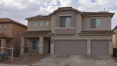 Sahuarita Single Family Home Active Contingent: 855 W Via De Gala
