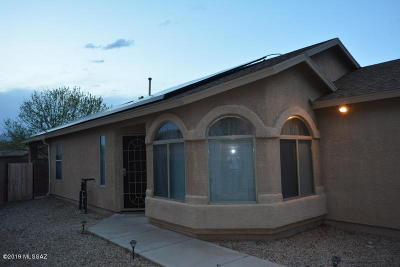 Pima County, Pinal County Single Family Home Active Contingent: 7846 S Hidden Stone Lane