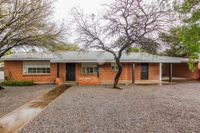 Single Family Home For Sale: 2940 N Tucson Boulevard