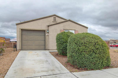 Pima County Single Family Home Active Contingent: 7063 S Spring Beauty Way
