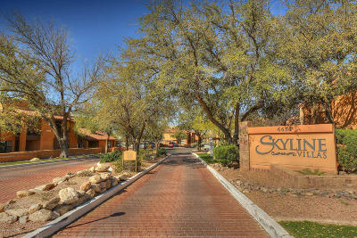 Pima County, Pinal County Condo For Sale: 6651 N Campbell Avenue #142