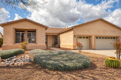 Oro Valley Single Family Home Active Contingent: 11475 N Mountain Breeze Drive