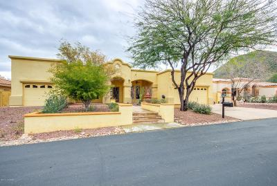 Tucson Single Family Home Active Contingent: 910 N Circulo Zagala