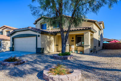 Tucson Single Family Home Active Contingent: 9143 S Whispering Pine Drive