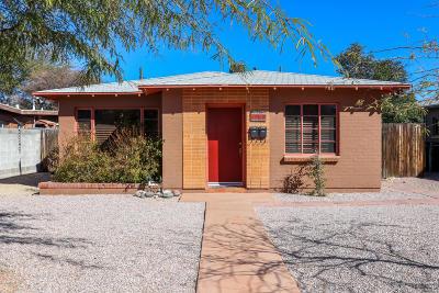 Pima County Single Family Home For Sale: 1909 E 8th Street