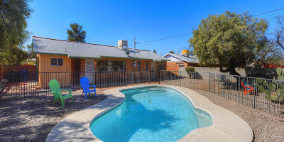 Pima County Single Family Home Active Contingent: 4425 E Water Street