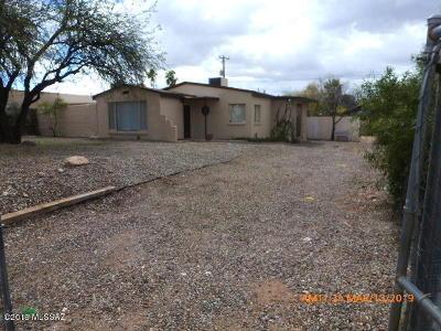Pima County Single Family Home For Sale: 2020 E Grant Road