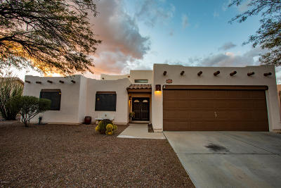 Tucson Single Family Home Active Contingent: 9121 N Veridian Drive