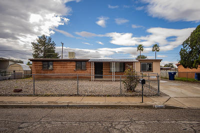 Tucson Single Family Home For Sale: 5010 E 23rd Street