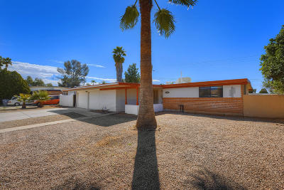 Tucson Single Family Home For Sale: 8032 E 2nd Street