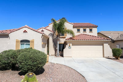 Tucson Single Family Home For Sale: 9984 N Blue Crossing Way