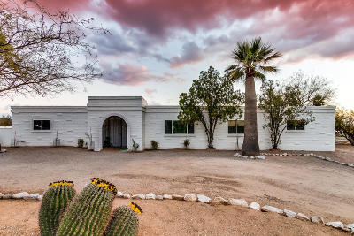 Tucson Single Family Home Active Contingent: 333 W Camino Del Oro