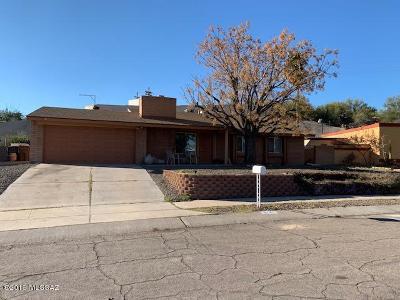 Pima County Single Family Home For Sale: 3744 W Gailey Drive