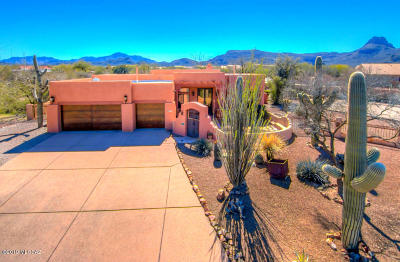 Tucson Single Family Home Active Contingent: 6987 W Wade Place