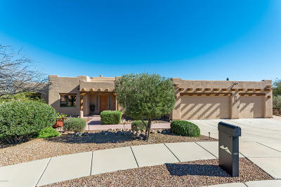 Tucson Single Family Home Active Contingent: 4324 W Tule Creek Court