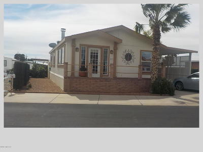 Pima County Manufactured Home For Sale: 5509 W Box R Street