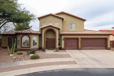 Tucson Single Family Home Active Contingent: 8881 N Canebrake Place