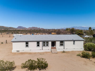 Pima County Manufactured Home For Sale: 3464 W Hermans Road