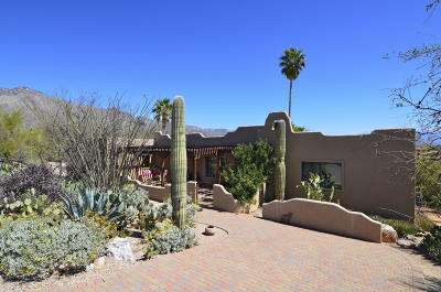 Single Family Home Active Contingent: 5936 N Paseo Ventoso