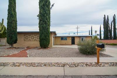 Tucson Single Family Home For Sale: 9102 E Palm Tree Drive