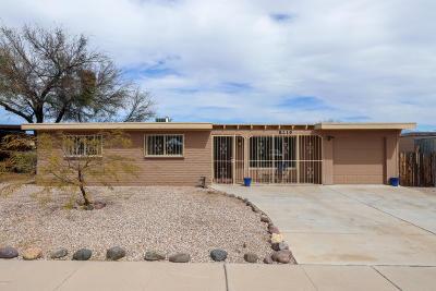 Tucson Single Family Home For Sale: 8219 E Escalante Road