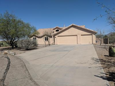 Tucson Single Family Home Active Contingent: 7166 W Resthaven Place