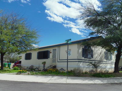 Pima County Manufactured Home For Sale: 1597 W Seabrooke Drive