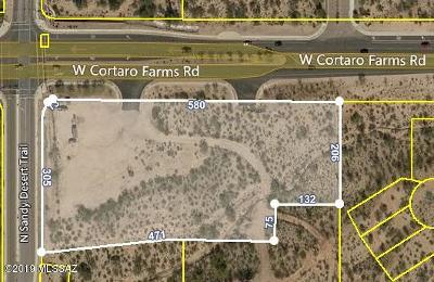 Tucson Residential Lots & Land For Sale: 4957 W Cortaro Farms Road