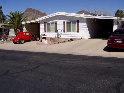 Pima County Manufactured Home For Sale: 5348 W Diamond K Street