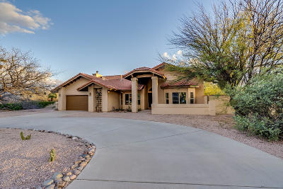 Tucson Single Family Home Active Contingent: 8151 E Coronado Road