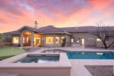 Tucson Single Family Home For Sale: 5640 W Setting Sun Place