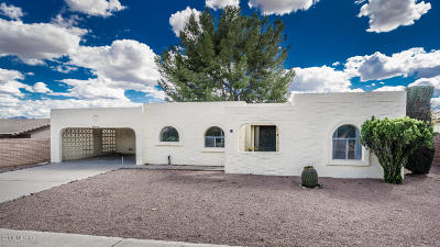 Pima County Single Family Home For Sale: 21 W Calle Montana Jack