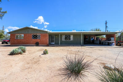Tucson Single Family Home For Sale: 7522 N Ellison Drive