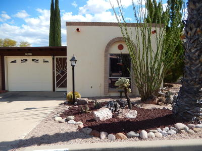 Pima County Townhouse For Sale: 2783 S Camino Selva