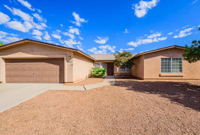 Pima County Single Family Home For Sale: 9811 E Bennett Drive
