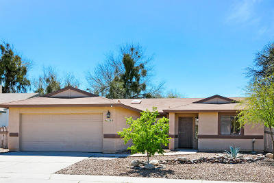 Tucson Single Family Home Active Contingent: 2785 W Sandbrook Lane