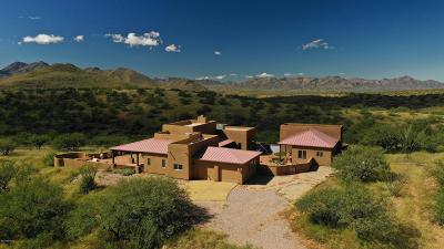 Tubac Single Family Home For Sale: 104 Poorwill Canyon Court