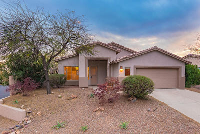Oro Valley Single Family Home For Sale: 13746 N Carlynn Cliff Drive