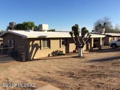 Tucson AZ Single Family Home For Sale: $218,000