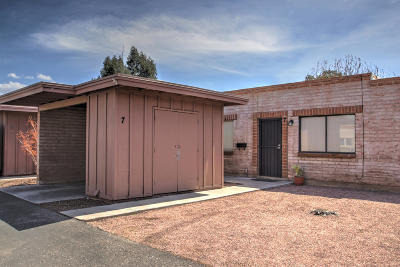 Tucson Townhouse For Sale: 3960 E Flower #7