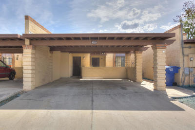 Tucson Townhouse For Sale: 1724 E Ponderosa Street