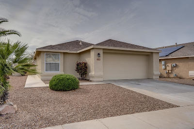 Tucson Single Family Home Active Contingent: 3346 S Whistler Drive