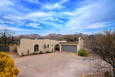 Tucson Single Family Home For Sale: 5271 N Coronado Place