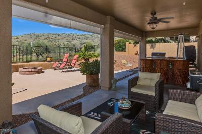 Tucson Single Family Home For Sale: 38698 S Sand Crest Drive