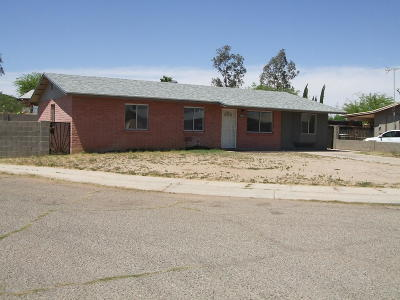 Tucson Single Family Home For Sale: 3728 E Drydock Place