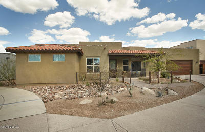 Tucson Single Family Home For Sale: 2928 N Old Fort Lowell Court