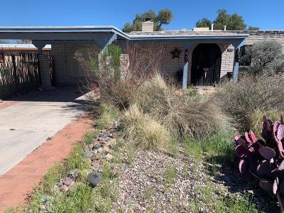 Tucson Single Family Home For Sale: 2526 W Calle Genova