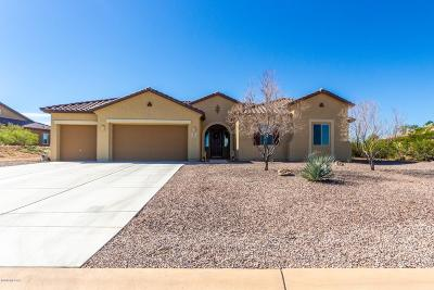 Sahuarita Single Family Home For Sale: 1346 E Madera Estates Lane