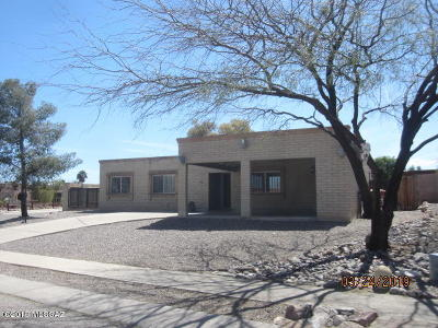 Tucson AZ Single Family Home For Sale: $218,900